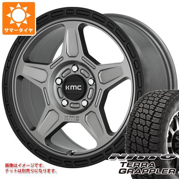 日本に ジープ ラングラー JK/JL系用 サマータイヤ 113S ニットー サマータイヤ テラグラップラー JK/JL系用 P265/70R17 113S KMC KM721 アルパイン タイヤホイール4本セット, maRe maRe online store:9ec6202e --- pavlekovic.hr