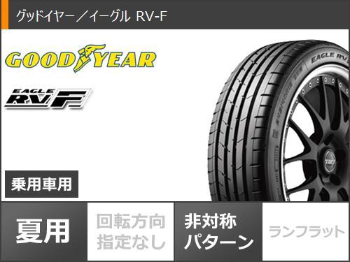 サマータイヤ215/45R1893WXLグッドイヤーイーグルRV-Fスマックヴァニッシュ7.5-18タイヤホイール4本セット