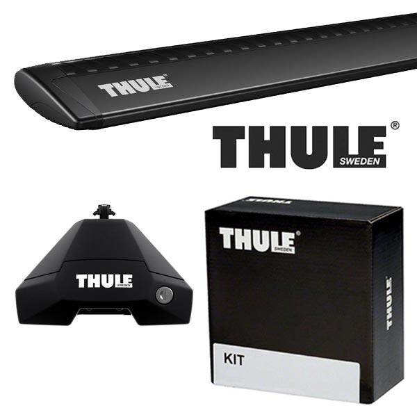 THULE スーリー アウディ A3 スポーツバック(5ドア) 8P系 04~ ルーフキャリア取付1台分セット TH7105+TH7113B+TH5085セット