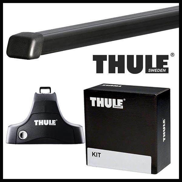 THULE スーリー シトロエン C4ピカソ B875C01 14~ ルーフキャリア取付セット TH754+TH7124+TH1740セット