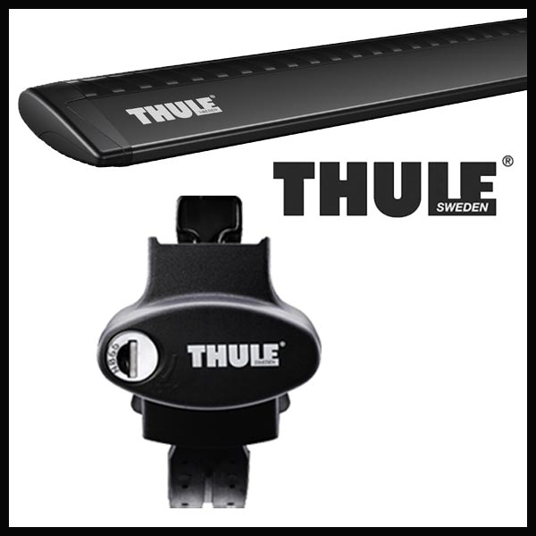 THULE スーリー ミニ MINIクロスオーバー ルーフレール付 17~ ルーフキャリア取付セット TH757+TH961Bセット