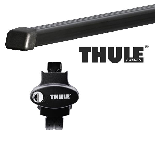 THULE スーリー フォルクスワーゲン ゴルフワゴン・ヴァリアント ルーフレール付 AUC系(ゴルフ7ワゴン) 14~ ルーフキャリア取付セット TH775+TH7122セット