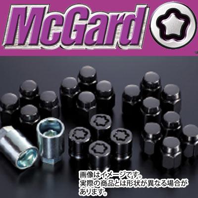 【正規品】 マックガード(McGard) MCG-84557B インストレーションキット 袋ナット(黒) M12x1.5 21HEX テーパー 盗難防止ロックナット