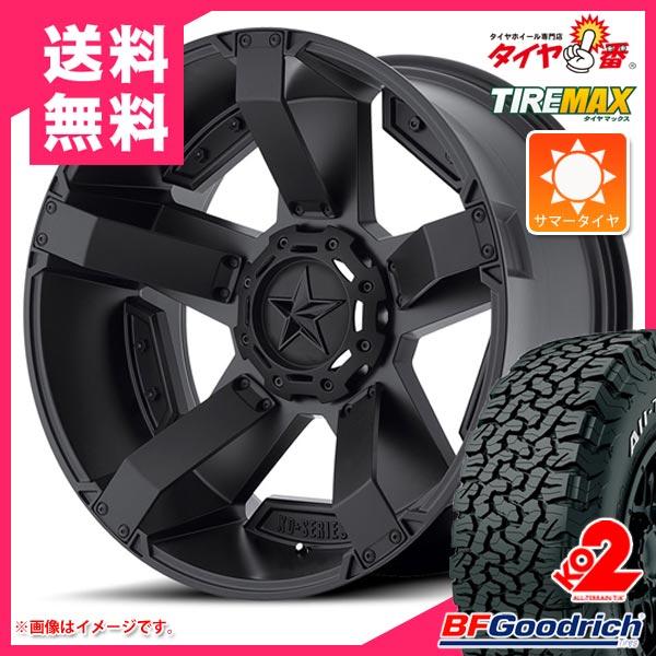 サマータイヤ 265/65R17 120/117S BFグッドリッチ オールテレーン T/A KO2 ホワイトレター KMC XD811 ロックスター2 8.0-17 タイヤホイール4本セット
