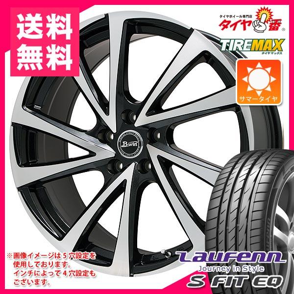 サマータイヤ215/60R1699HXLラウフェンSフィットEQLK01&ビーウィンヴェノーザ106.5-16タイヤホイール4本セット