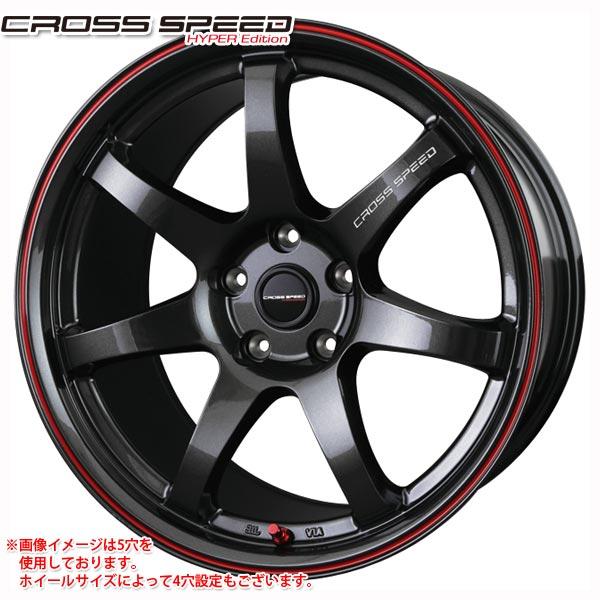 クロススピード ハイパーエディション CR7 9.5-19 ホイール1本 CROSS SPEED HYPER Edition CR7