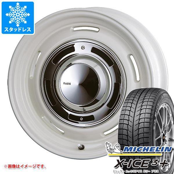 スタッドレスタイヤ ミシュラン エックスアイス3プラス 265/65R17 112T & クリムソン ディーンクロスカントリー 8.0-17 タイヤホイール4本セット 265/65-17 MICHELIN X-ICE3+