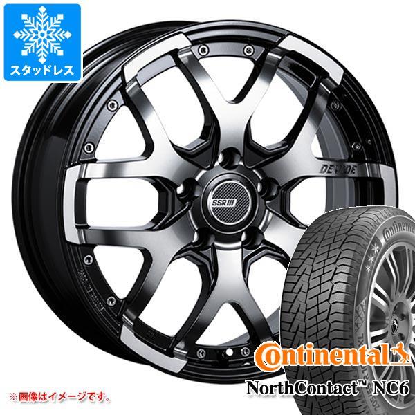 スタッドレスタイヤ コンチネンタル ノースコンタクト NC6 215/65R16 102T XL & SSR ディバイド ZS 7.0-16 タイヤホイール4本セット 215/65-16 CONTINENTAL NorthContact NC6