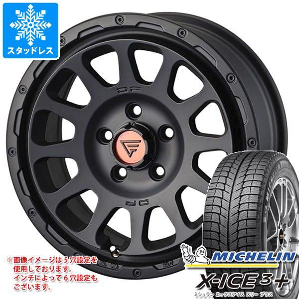 スタッドレスタイヤ ミシュラン エックスアイス3プラス 215/60R16 99H XL & デルタフォース オーバル 7.0-16 タイヤホイール4本セット 215/60-16 MICHELIN X-ICE3+