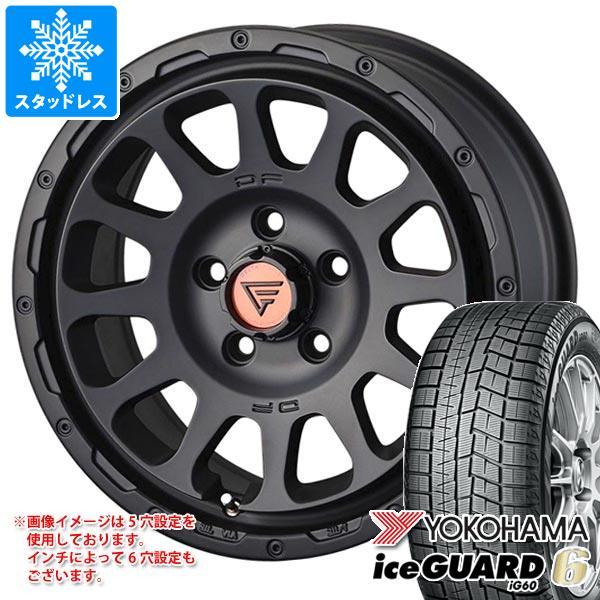 スタッドレスタイヤ ヨコハマ アイスガードシックス iG60 215/60R16 95Q & デルタフォース オーバル 7.0-16 タイヤホイール4本セット 215/60-16 YOKOHAMA iceGUARD 6 iG60