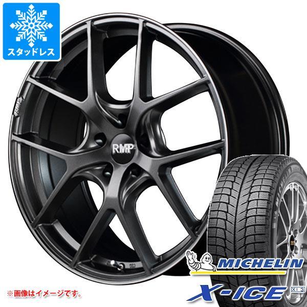 スタッドレスタイヤ ミシュラン エックスアイス XI3 245/50R18 104H XL & RMP 025F 8.0-18 タイヤホイール4本セット 245/50-18 MICHELIN X-ICE XI3