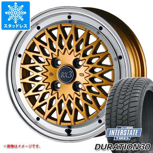 スタッドレスタイヤ インターステート デュレーション30 155/65R14 75T & ドゥオール フェニーチェ RX3 4.5-14 タイヤホイール4本セット 155/65-14 INTERSTATE DURATION 30