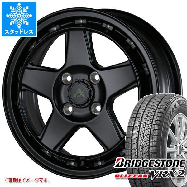 フェニーチェ クロス 5.0-15 VRX2 BLIZZAK VRX2 & BRIDGESTONE ブリヂストン タイヤホイール4本セット165/55-15 165/55R15 ブリザック スタッドレスタイヤ ドゥオール 75Q XC5