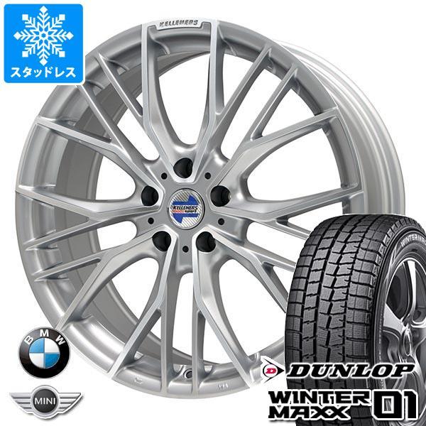 2019年製 BMW F40 1シリーズ用 スタッドレス ダンロップ ウインターマックス01 WM01 205/55R16 91Q ケレナーズ エルツ SP タイヤホイール4本セット