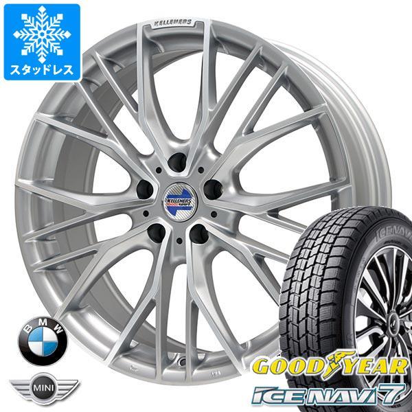 BMW F40 1シリーズ用 スタッドレス グッドイヤー アイスナビ7 205/55R16 91Q ケレナーズ エルツ SP タイヤホイール4本セット