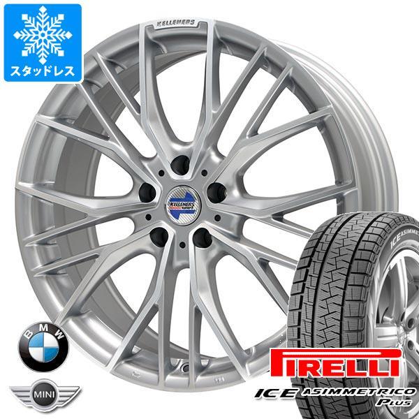 BMW G20 3シリーズ用 スタッドレス ピレリ アイスアシンメトリコ プラス 225/45R18 95Q XL ケレナーズ エルツ SP タイヤホイール4本セット