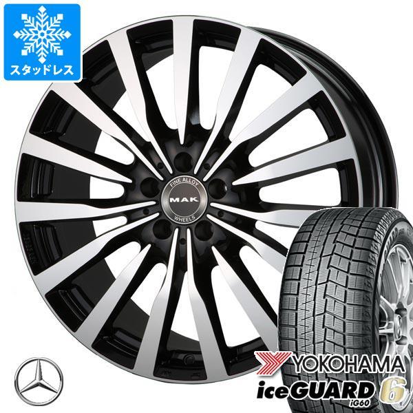 メルセデスベンツ X156 GLAクラス用 スタッドレス ヨコハマ アイスガードシックス iG60 215/60R17 96Q MAK クローネ タイヤホイール4本セット