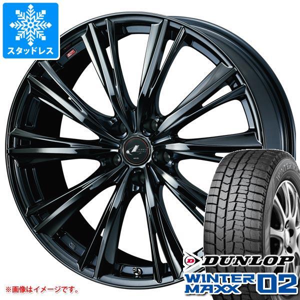 日本製 スタッドレスタイヤ ダンロップ ウインターマックス02 WM02 215 215/45R17/45R17 MAXX 87Q ダンロップ& レオニス WX 7.0-17 タイヤホイール4本セット215/45-17 DUNLOP WINTER MAXX 02 WM02, アークランド楽天市場ショップ:c78aacd3 --- inglin-transporte.ch
