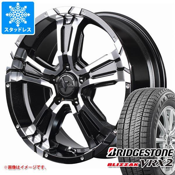 スタッドレスタイヤ ブリヂストン ブリザック VRX2 205/65R16 95Q & ナイトロパワー クロスクロウ 7.0-16 タイヤホイール4本セット 205/65-16 BRIDGESTONE BLIZZAK VRX2