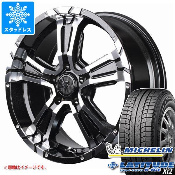 スタッドレスタイヤ ミシュラン ラティチュード エックスアイス XI2 235/65R17 108T XL & ナイトロパワー クロスクロウ 7.0-17 タイヤホイール4本セット 235/65-17 MICHELIN LATITUDE X-ICE XI2