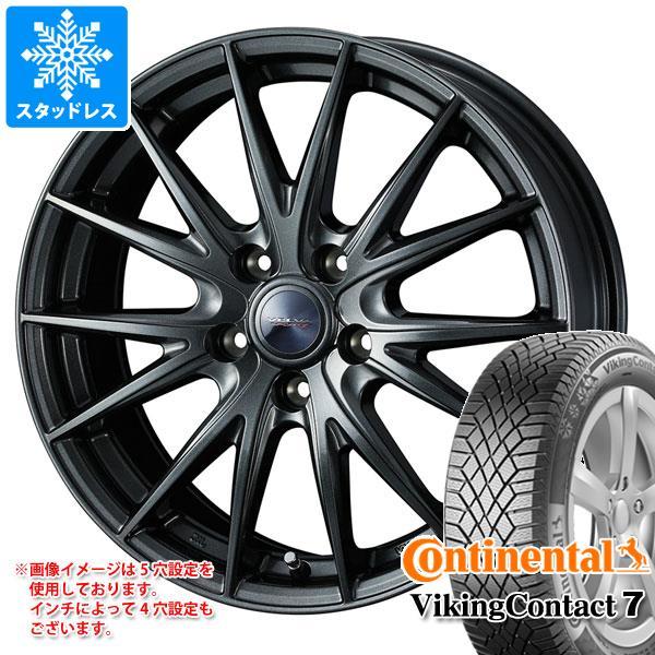 有名な高級ブランド スタッドレスタイヤ コンチネンタル バイキングコンタクト7 195/60R16 93T XL & ヴェルヴァ スポルト2 6.5-16 タイヤホイール4本セット 195/60-16 CONTINENTAL VikingContact 7, LEARNER'S BOOKS 0c790eb1