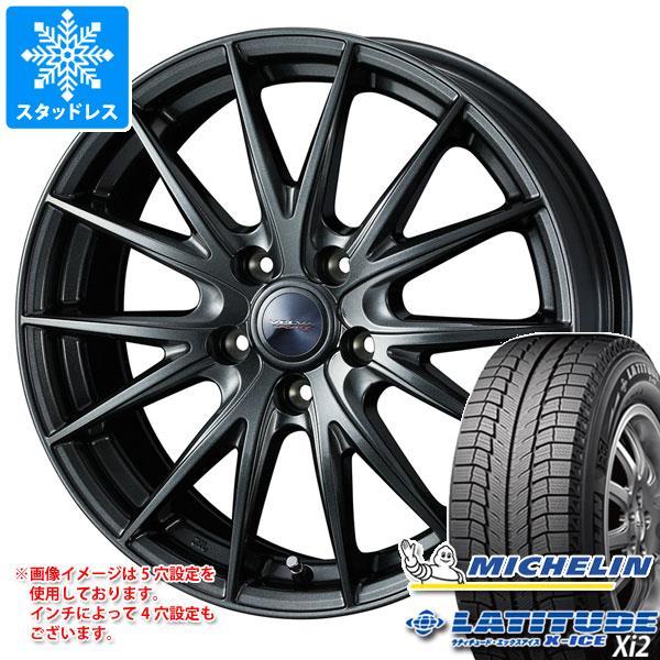 スタッドレスタイヤ ミシュラン ラティチュード エックスアイス XI2 235/65R18 106T & ヴェルヴァ スポルト2 7.5-18 タイヤホイール4本セット 235/65-18 MICHELIN LATITUDE X-ICE XI2