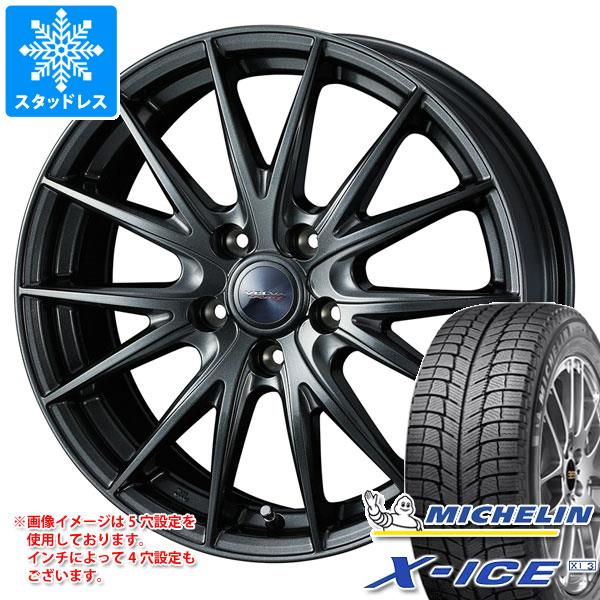 スタッドレスタイヤ ミシュラン エックスアイス XI3 185/55R15 86H XL & ヴェルヴァ スポルト2 5.5-15 タイヤホイール4本セット 185/55-15 MICHELIN X-ICE XI3
