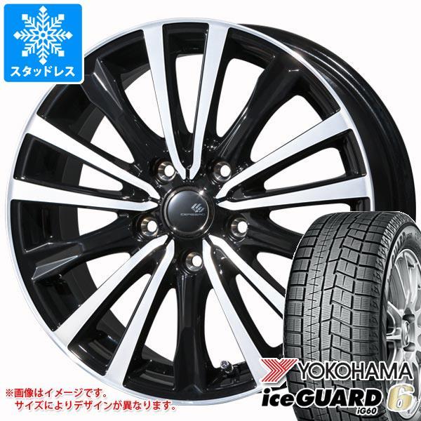 スタッドレスタイヤ ヨコハマ アイスガードシックス iG60 205/65R15 94Q & セレブロ WF5 6.0-15 タイヤホイール4本セット 205/65-15 YOKOHAMA iceGUARD 6 iG60