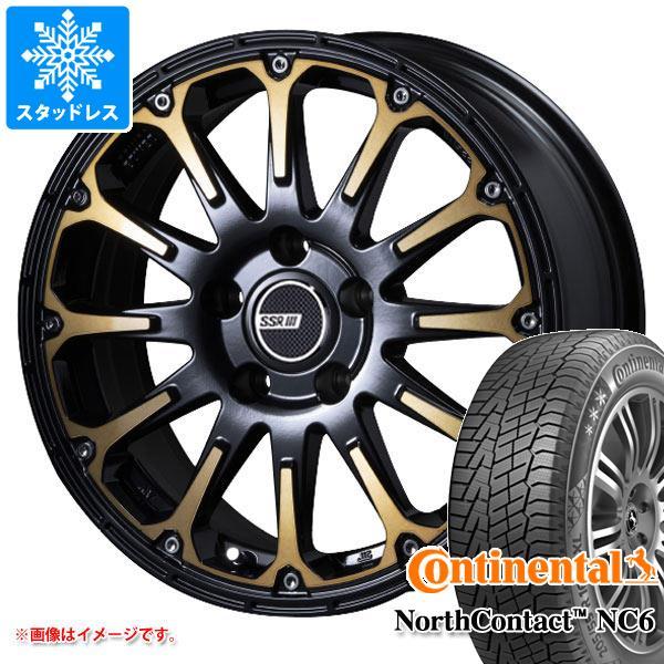 スタッドレスタイヤ コンチネンタル ノースコンタクト NC6 215/65R16 102T XL & SSR ディバイド FT 7.0-16 タイヤホイール4本セット 215/65-16 CONTINENTAL NorthContact NC6