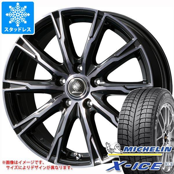 スタッドレスタイヤ ミシュラン エックスアイス XI3 205/65R15 99T XL & ディルーチェ DX10 6.0-15 タイヤホイール4本セット 205/65-15 MICHELIN X-ICE XI3