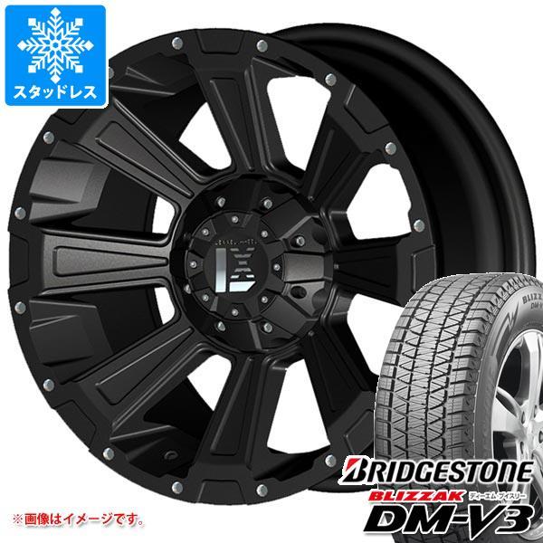 スタッドレスタイヤ ブリヂストン ブリザック DM-V3 215/70R16 100Q & オフビート レクセル オフロードスタイル デスロック 7.0-16 タイヤホイール4本セット 215/70-16 BRIDGESTONE BLIZZAK DM-V3