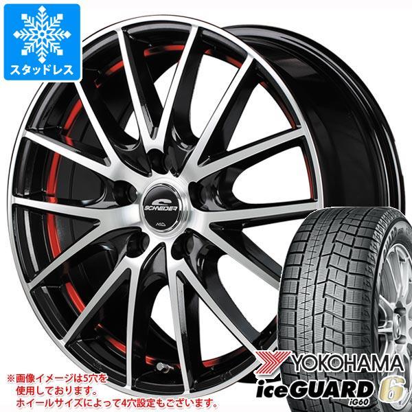 スタッドレスタイヤ ヨコハマ アイスガードシックス iG60 165/60R14 75Q & シュナイダー RX27 4.5-14 タイヤホイール4本セット 165/60-14 YOKOHAMA iceGUARD 6 iG60