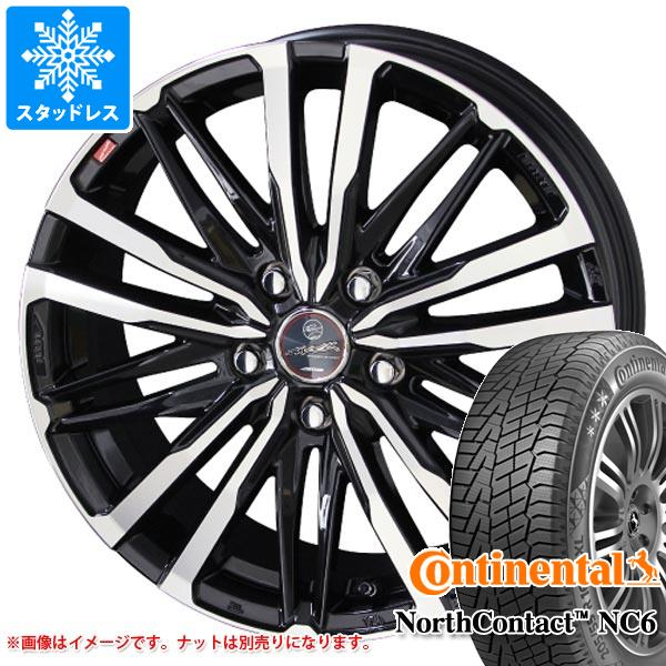 スタッドレスタイヤ コンチネンタル ノースコンタクト NC6 185/65R15 92T XL & スマック クレスト タイヤホイール4本セット 185/65-15 CONTINENTAL NorthContact NC6