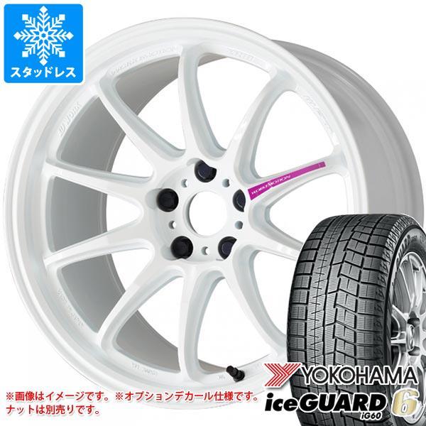 2020年製 スタッドレスタイヤ ヨコハマ アイスガードシックス iG60 225/60R17 99Q & ワーク エモーション ZR10 7.0-17 タイヤホイール4本セット 225/60-17 YOKOHAMA iceGUARD 6 iG60