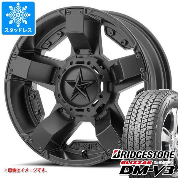 スタッドレスタイヤ ブリヂストン ブリザック DM-V3 265/65R17 112Q & KMC XD811 ロックスター2 8.0-17 タイヤホイール4本セット 265/65-17 BRIDGESTONE BLIZZAK DM-V3