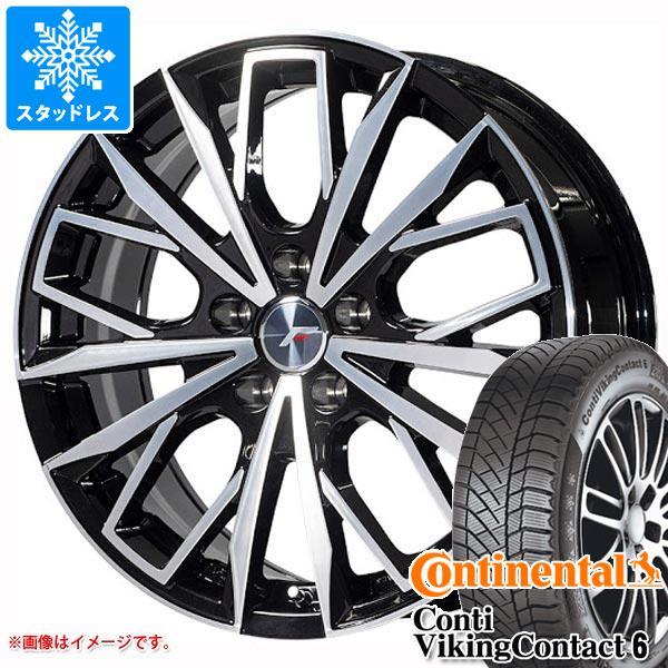 GS専用 スタッドレス コンチネンタル コンチバイキングコンタクト6 245/40R18 97T XL エルエフファースト タイヤホイール4本セット