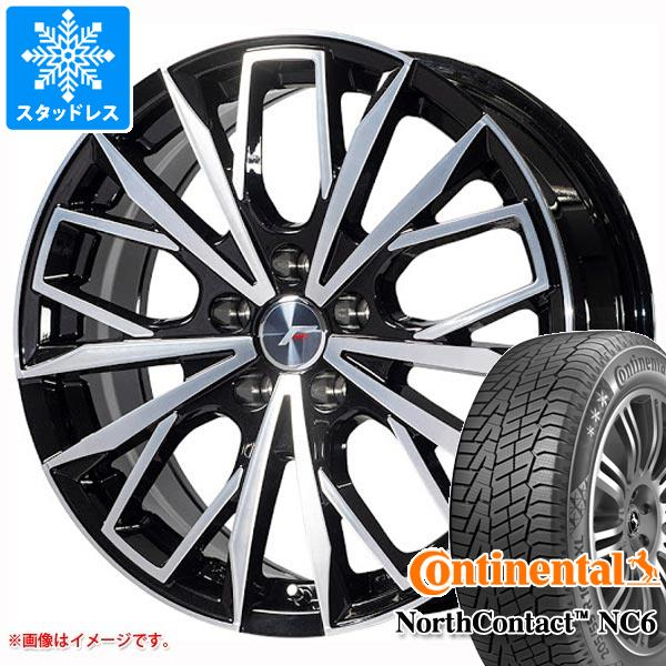 NX専用 スタッドレス コンチネンタル ノースコンタクト NC6 225/60R18 104T XL エルエフファースト タイヤホイール4本セット