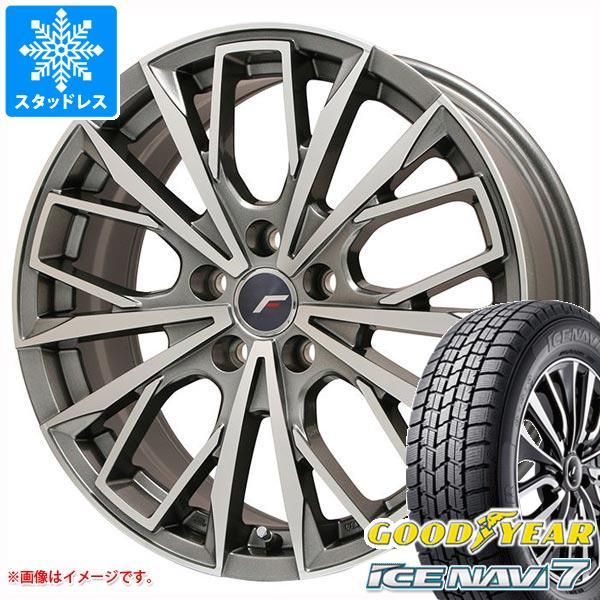 GS450h専用 スタッドレス グッドイヤー アイスナビ7 235/45R18 94Q エルエフファースト タイヤホイール4本セット