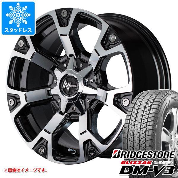スタッドレスタイヤ ブリヂストン ブリザック DM-V3 265/70R17 115Q & ナイトロパワー ウォーヘッド 8.0-17 タイヤホイール4本セット 265/70-17 BRIDGESTONE BLIZZAK DM-V3