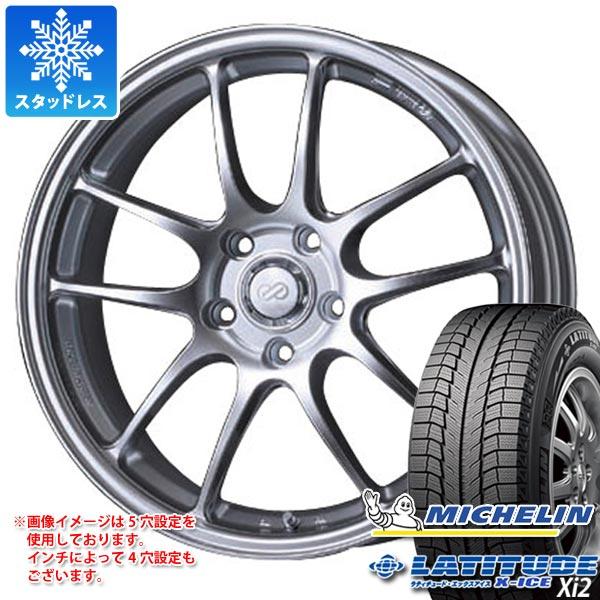 スタッドレスタイヤ ミシュラン ラティチュード エックスアイス XI2 235/65R17 108T XL & ENKEI エンケイ パフォーマンスライン PF01 7.5-17 タイヤホイール4本セット 235/65-17 MICHELIN LATITUDE X-ICE XI2
