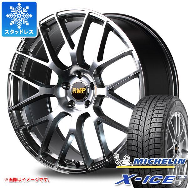 スタッドレスタイヤ ミシュラン エックスアイス XI3 245/50R18 104H XL & RMP 028F 8.0-18 タイヤホイール4本セット 245/50-18 MICHELIN X-ICE XI3
