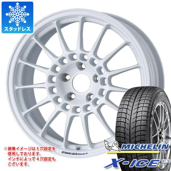 スタッドレスタイヤ ミシュラン 8.0-18 エックスアイス ミシュラン XI3 225/40R18 92H XL XI3& ENKEI エンケイスポーツ RC-T5 8.0-18 タイヤホイール4本セット 225/40-18 MICHELIN X-ICE XI3, オカドン:db074a0d --- jpworks.be