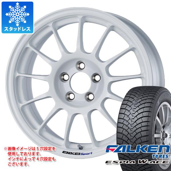 スタッドレスタイヤ ファルケン エスピア ダブルエース 175/65R15 84S & ENKEI エンケイスポーツ RC-T5 6.0-15 タイヤホイール4本セット 175/65-15 FALKEN ESPIA W-ACE