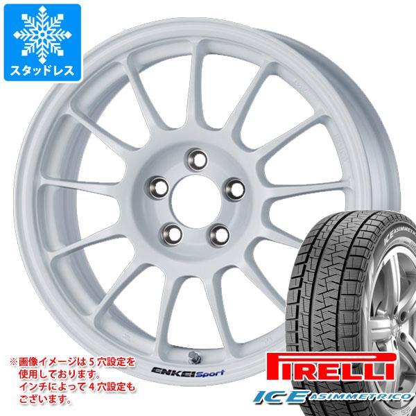 スタッドレスタイヤ ピレリ アイスアシンメトリコ 205/65R15 94Q & ENKEI エンケイスポーツ RC-T5 6.5-15 タイヤホイール4本セット 205/65-15 PIRELLI ICE ASIMMETRICO