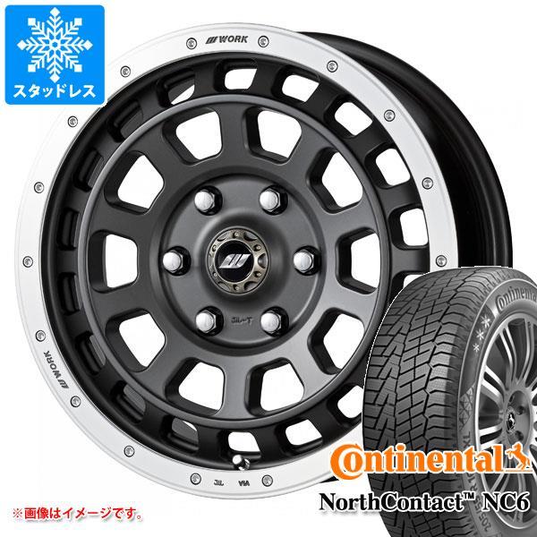 スタッドレスタイヤ コンチネンタル ノースコンタクト NC6 235/65R17 108T XL & クラッグ T-グラビック 7.0-17 タイヤホイール4本セット 235/65-17 CONTINENTAL NorthContact NC6