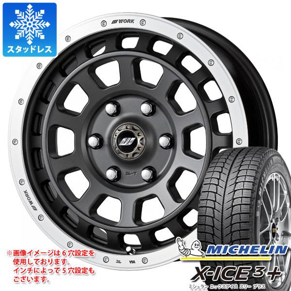 スタッドレスタイヤ ミシュラン エックスアイス3プラス 265/65R17 112T & ワーク クラッグ T-グラビック 8.0-17 タイヤホイール4本セット 265/65-17 MICHELIN X-ICE3+