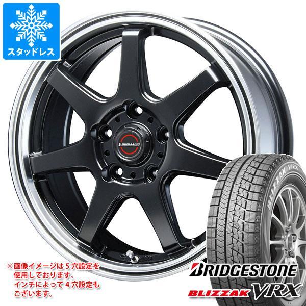 スタッドレスタイヤ ブリヂストン ブリザック VRX 165/55R14 72Q & ブレスト ユーロマジック タイプ S-07 4.5-14 タイヤホイール4本セット 165/55-14 BRIDGESTONE BLIZZAK VRX