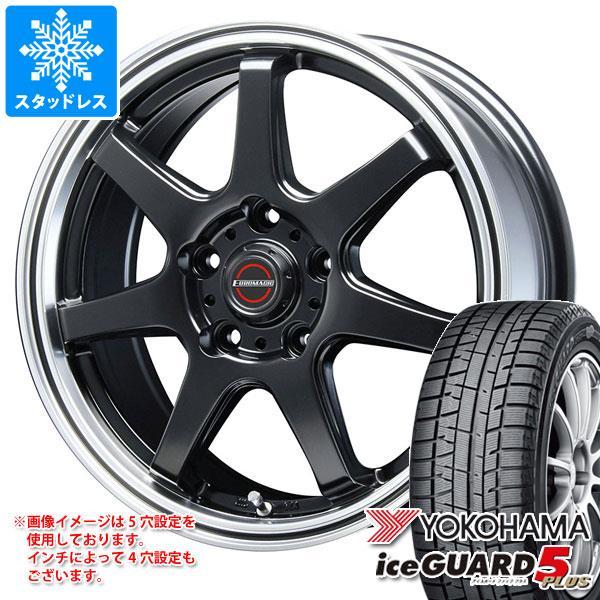 2020年製 スタッドレスタイヤ ヨコハマ アイスガードファイブ プラス iG50 185/60R15 84Q & ブレスト ユーロマジック タイプ S-07 タイヤホイール4本セット 185/60-15 YOKOHAMA iceGUARD 5 PLUS iG50