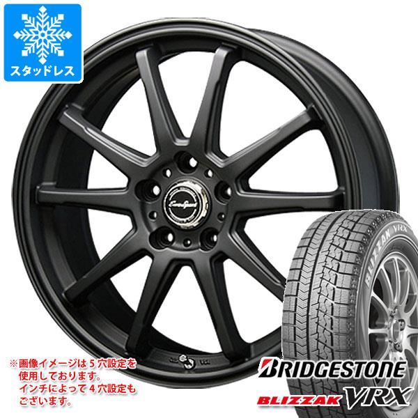 スタッドレスタイヤ ブリヂストン ブリザック VRX 165/65R15 81Q & ブレスト ユーロスポーツ タイプSS-01 5.0-15 タイヤホイール4本セット 165/65-15 BRIDGESTONE BLIZZAK VRX