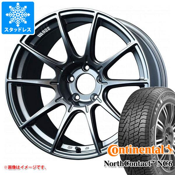 スタッドレスタイヤ コンチネンタル ノースコンタクト NC6 225/45R17 94T XL & SSR GTX01 8.0-17 タイヤホイール4本セット 225/45-17 CONTINENTAL NorthContact NC6